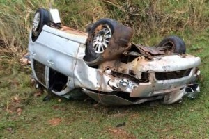 Iapu: Jovem morre em capotamento na BR-458