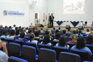 Manhuaçu: Drogas… tema de palestra na Câmara de Vereadores