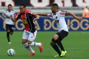 Brasileirão: Atlético empata e fica mais longe do Corinthians