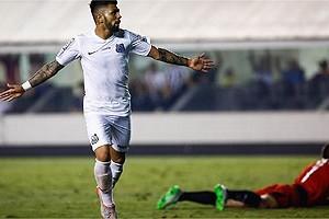 Brasileirão: Atlético é goleado pelo Santos