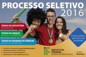 Manhuaçu: IF divulga prazo para inscrições no curso de cafeicultura