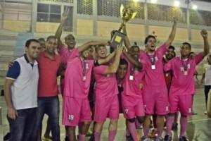 """Manhuaçu: """"Tempo Futsal""""é o campeão da super taça"""