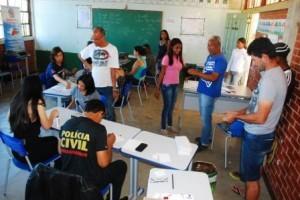 Manhuaçu: Moradores de Vilanova participam de ações de cidadania