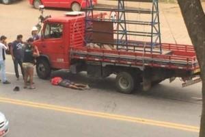 Manhuaçu: Caminhão atropela mulher na BR 262