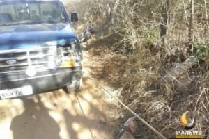 Ipanema: Motociclista morre na zona rural. Bateu em F1000