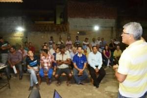 Manhuaçu: Vilanova discute sobre escassez de água com o SAAE