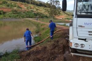Manhuaçu: SAAE implanta novo sistema de abastecimento na seca