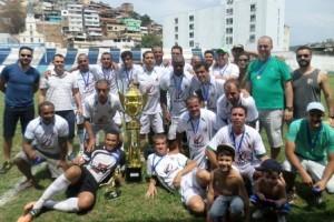 Futebol local: Nicchio Café é campeão Master