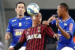 Brasileirão: Cruzeiro empata na Arena da Baixada