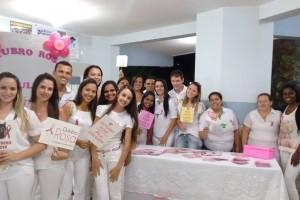 """Univértix: Alunos valorizam a campanha """"Outubro Rosa"""""""