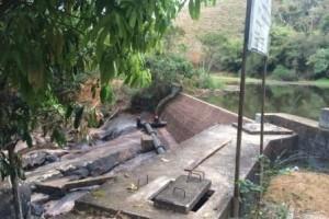 Manhuaçu: Escassez de água na captação pode provocar racionamento