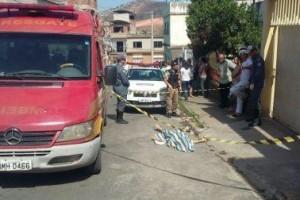 Caratinga: Jovem é executado a tiros. Suspeito preso pela PM
