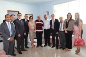 Manhuaçu: Dirigentes da OAB, CAA/MG e OAB/MG visitam presídio