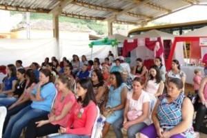 Luisburgo: Realizada mobilização para saúde mental, prevenção ao câncer de mama e obesidade