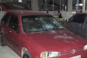 Manhuaçu: Jovem tem carro quebrado em Santo Amaro de Minas