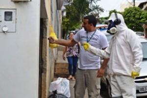 Manhuaçu: Saúde combate mosquito da dengue no Coqueiro
