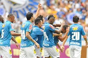 Brasileirão:  Cruzeiro goleia no Mineirão