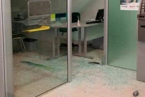 Orizânia: Dois bancos arrombados na cidade