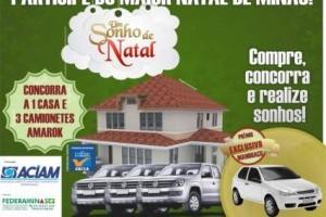 Manhuaçu: Campanha de Natal da ACIAM já premiou clientes com vales-compras