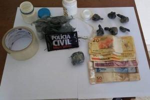 Santa Margarida: Homem é preso com drogas