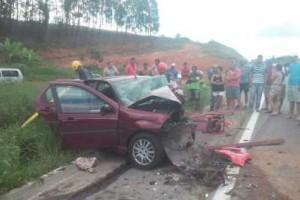 Martins Soares: Acidente fere quatro pessoas na BR 262
