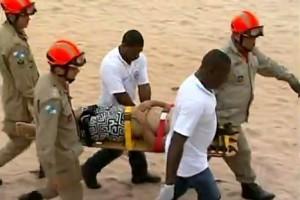 Divino: Morador da cidade se afoga em Macaé/RJ. Retirado com vida