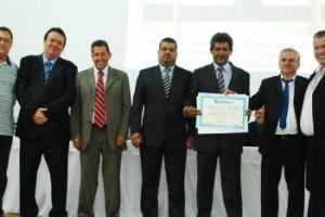 Vereador de Manhuaçu é homenageado com Diploma de Honra ao Mérito