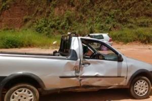 Manhuaçu: Motociclista sai ferido gravemente após batida na BR 116