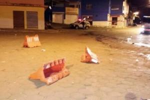 Manhuaçu: Polícia prende várias pessoas na Vilanova. Rixa e briga
