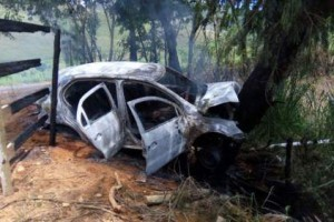 Manhuaçu: Roubam carro, batem e são presos pela PM