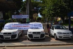 Manhuaçu: Saúde recebe novos veículos