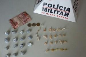 Fervedouro: Adolescentes apreendidas com drogas