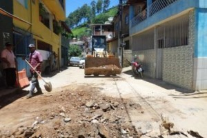 Manhuaçu: Obras realiza limpeza após chuvas