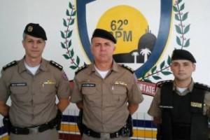 Caratinga: PM da cidade recebe mais dois oficiais