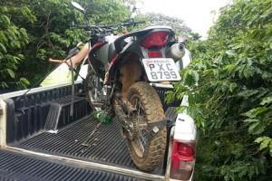 Fervedouro: Motocicleta furtada é encontrada no cafezal