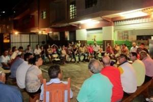 Manhuaçu: Vereadores e secretários ouvem pedidos em Vilanova