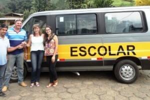 Luisburgo: Município adquire mais um veículo para o transporte escolar