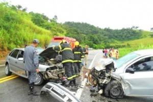 Inhapim: Acidente com vítima fatal na BR 116