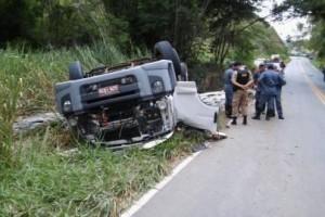 MG 111: Caminhoneiro morre entre Reduto e Manhumirim