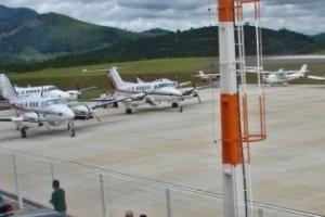 Manhuaçu: Concluída sinalização de elevações em torno do Aeroporto de Santo Amaro