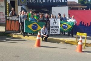 Manhuaçu: Apoio ao Juiz Sérgio Moro na cidade