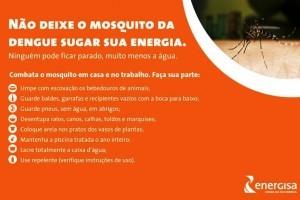 Ação: Energisa na luta contra o mosquito Aedes Aegypti