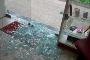 Pocrane: Loja de celulares é arrombada. R$ 1.500,00 de prejuízo