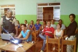 Manhuaçu: PM promove reunião em Santo Amaro de Minas