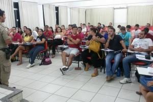Matipó: Univértix recebe palestras educativas da PM
