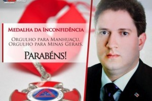 Homenagem: Presidente da OAB receberá Medalha da Inconfidência