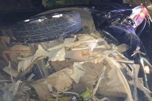 Martins Soares: Duas pessoas feridas em acidente na 262