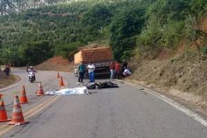 Piedade de Caratinga: Um morto e um ferido em acidente na 474