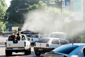 Manhuaçu: Semana começa com fumacê contra o mosquito Aedes. Veja os horários