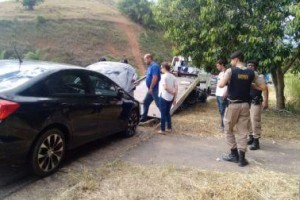 Inhapim: PM encontra veículo usado em assalto na CEF